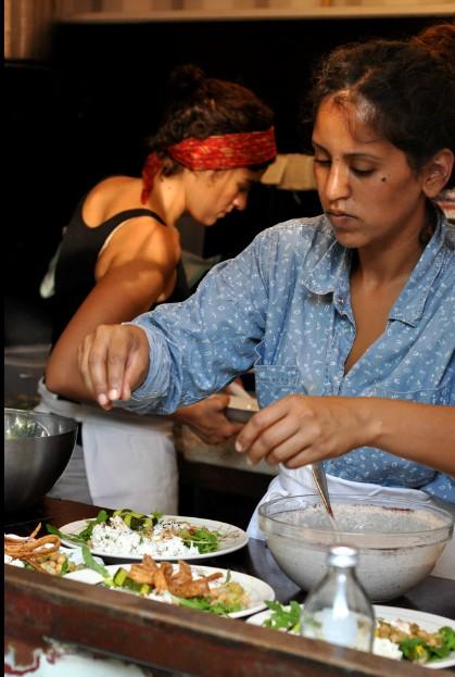 wegetarianizm i weganizm kwitną w berlińskim bistro