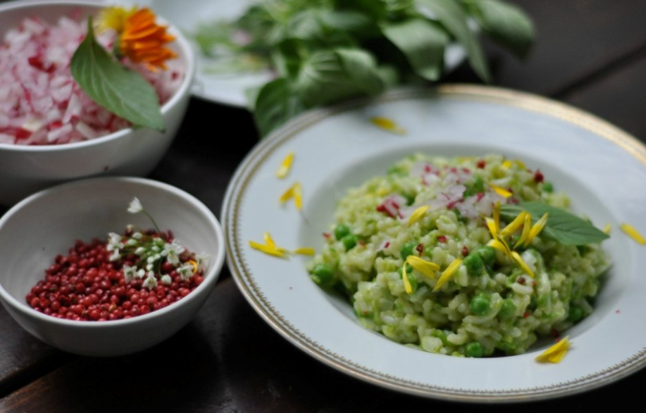 pyszne dania wegetariańskie z berlińskiego bistro