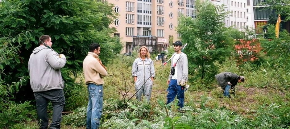 ogrodnicy społeczni zaczynają prace w Berlinie