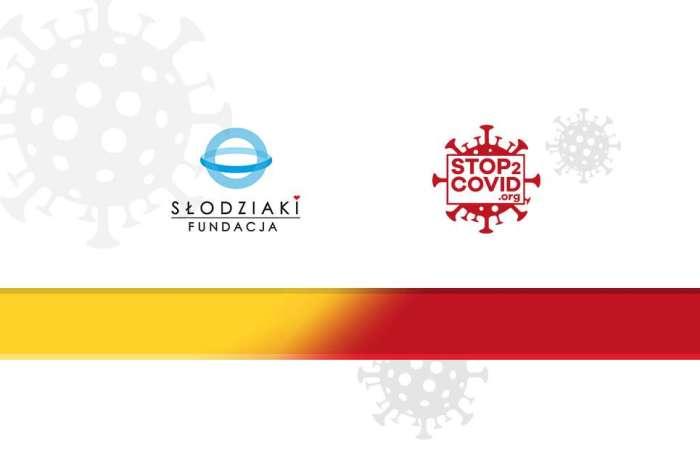 Jesteśmy Partnerem projektu stop2covid.org – wspieramy ideę noszenia opasek