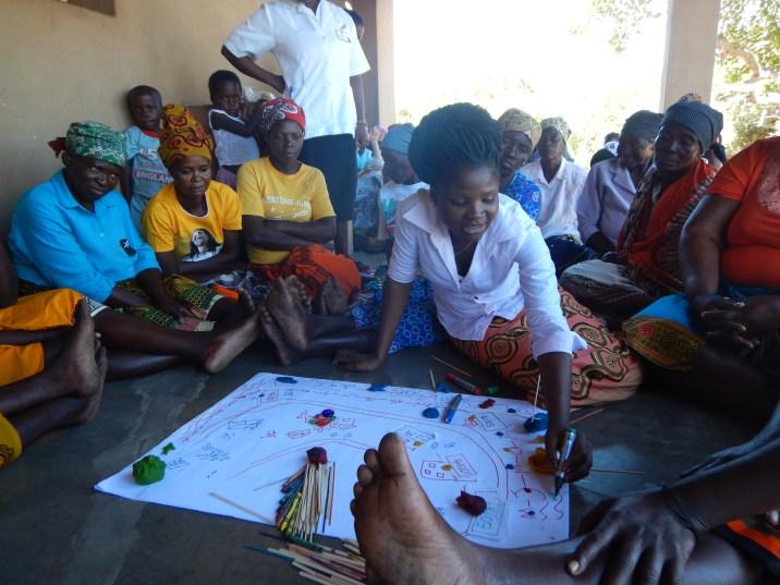 Sculpting the community in Zenguelemo