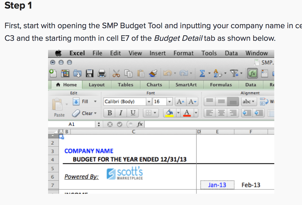 7 Free Small Business Budget Templates