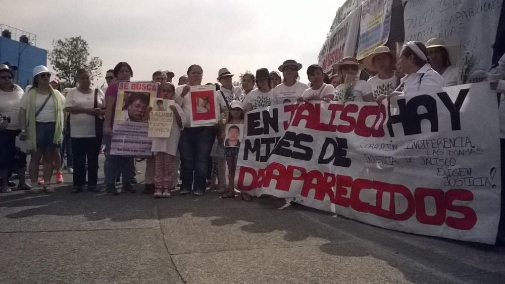 FAMILIAS DE DESAPARECIDOS DE JALISCO SE CONGREGARON PARA EXIGIR JUSTICIA (2/6)