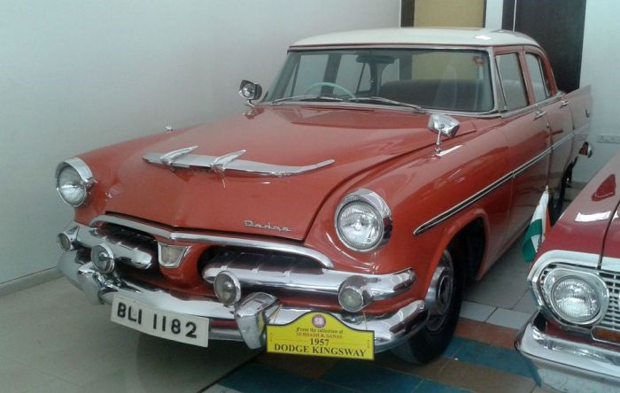 Out of the way, here comes a Dodge Kingsway! Vintage and Classic Cars Museum, Pune, India