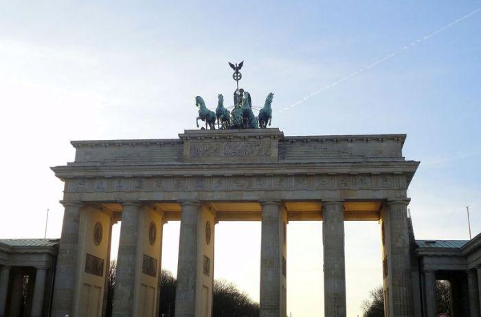 The majestic Brandenburg Gate. Berlin, Germany