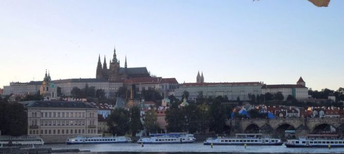 [Prague, Czech Republic] In Prague: An Evening Along the Vltava