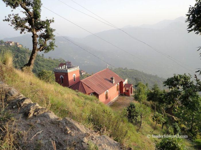 Following a hillside trail. Mukteshwar, Uttarakhand, India.