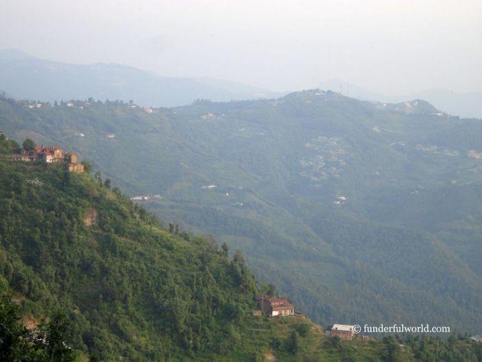 Of charming hillside towns. Mukteshwar, Uttarakhand, India.