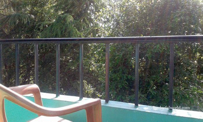 My kinda balcony. TRH Mukteshwar, Uttarakhand, India.