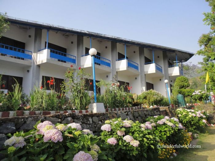 KMVN's Tourist Rest House, Naukuchiatal. Uttarakhand, India.