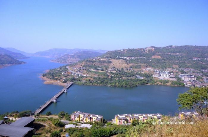 Lavasa city. Maharashtra, India.
