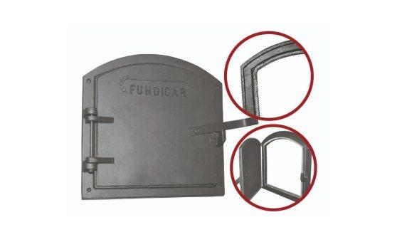203.17 - Porta Quadrada com Amianto atrás 550x500 mm