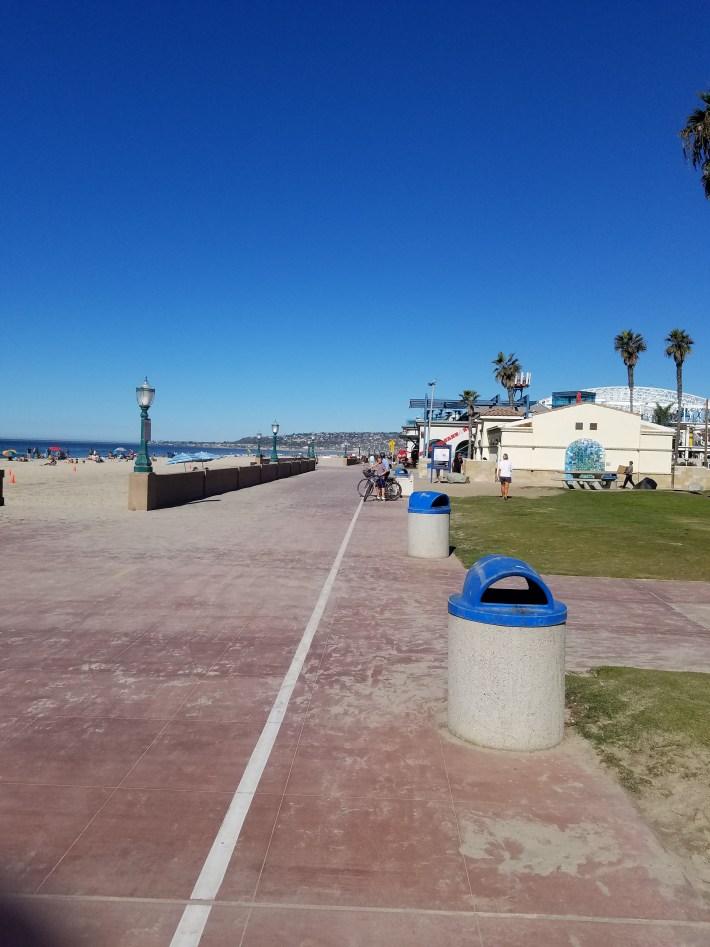 Mission Bay/Beach Bike Route