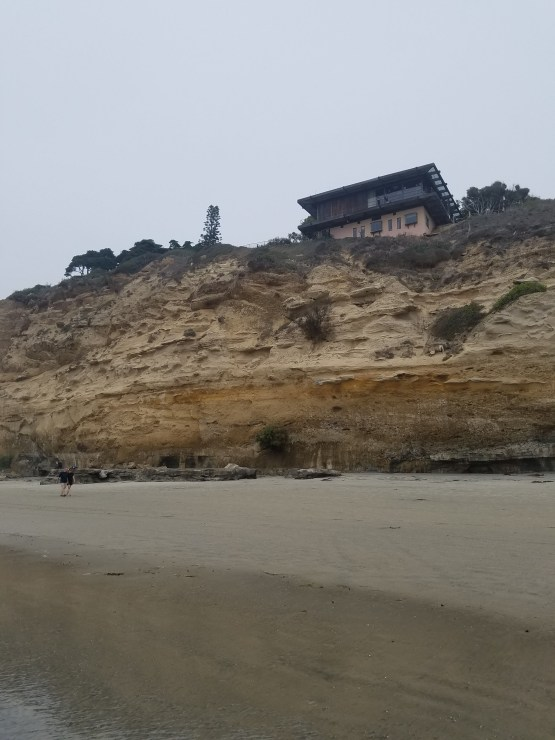 Scripps Beach Dike Rock
