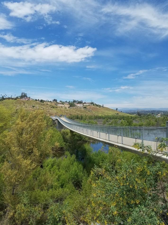 Lake Hodges Bicycle Pedestrian Bridge