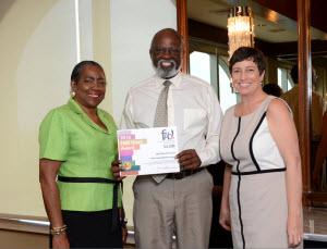 Old Dillard Foundation's Judi Hamilton, Derek Davis & FAB!'s Wendy Boucher