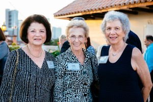 Robbie Kurland, Judith Carney & Commissioner Sue Gunzburger at FAB! Kick Off event, at Northern Trust, Fort Lauderdale.
