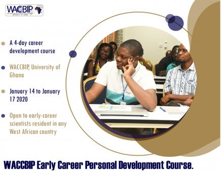 WACCBIP Early Career Personal Development Course