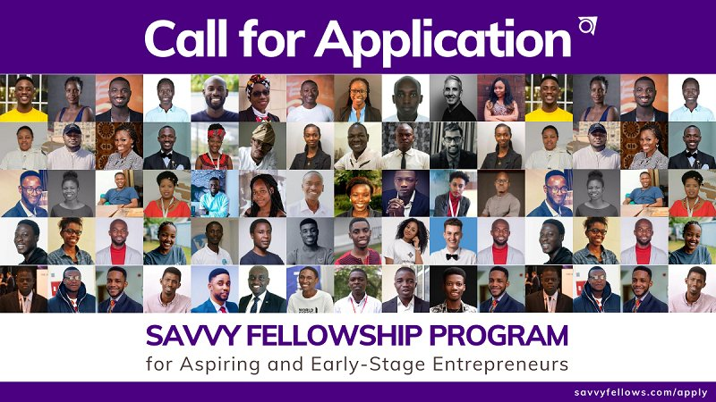 Savvy Fellowship Program for Aspiring and Early-Stage Entrepreneurs 2020