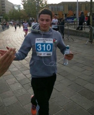 Danny, Running for Palestine