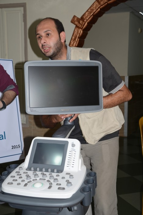 Providing Gaza hospitals with Echo dopplers