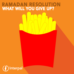 Interpal Ramadan Resolution Challenge - What will you give up?