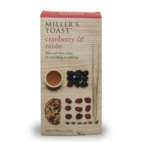 Cranberry & Raisin Toast, part of Mubarak London's luxury hampers