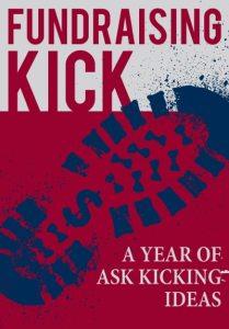 Fundraising Kick image of boot symbolizing the coaching email kicks