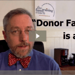 Donor Fatigue is a myth