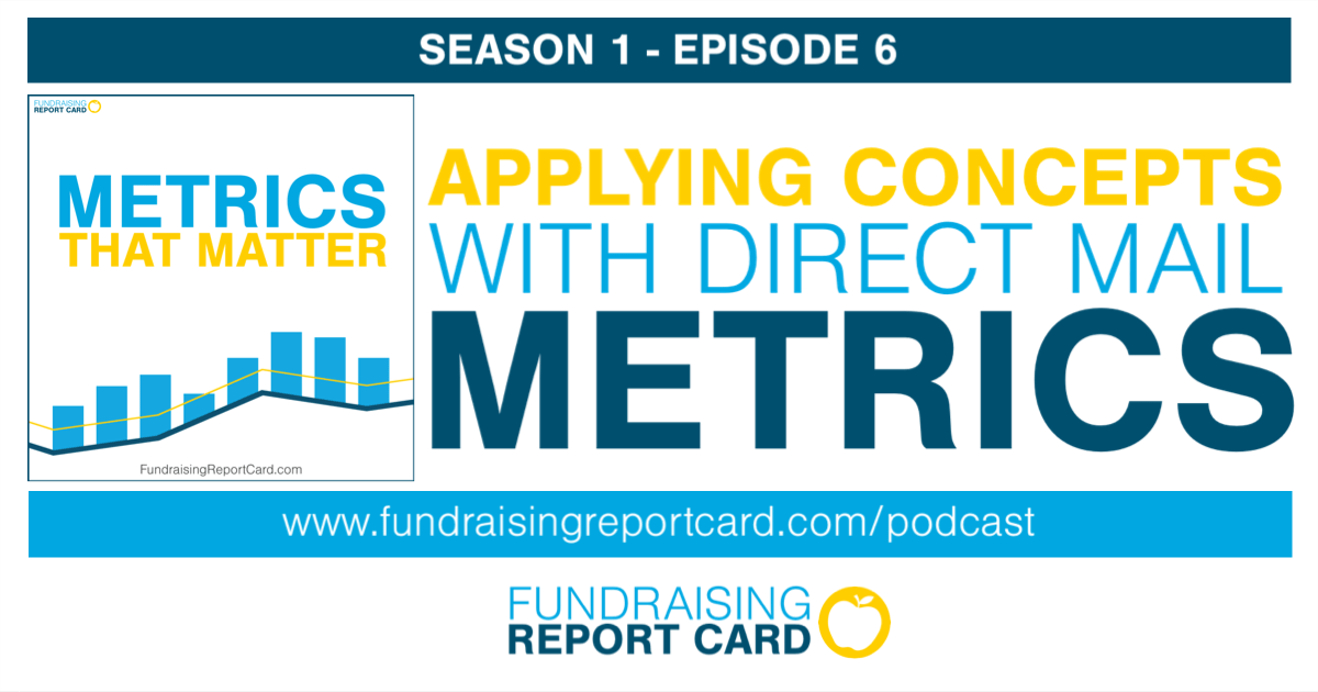 Applying concepts with direct mail metrics