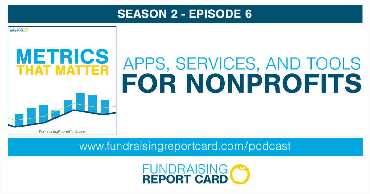 Apps - Services - Tools for Nonprofits - Metrics That Matter Podcast Art