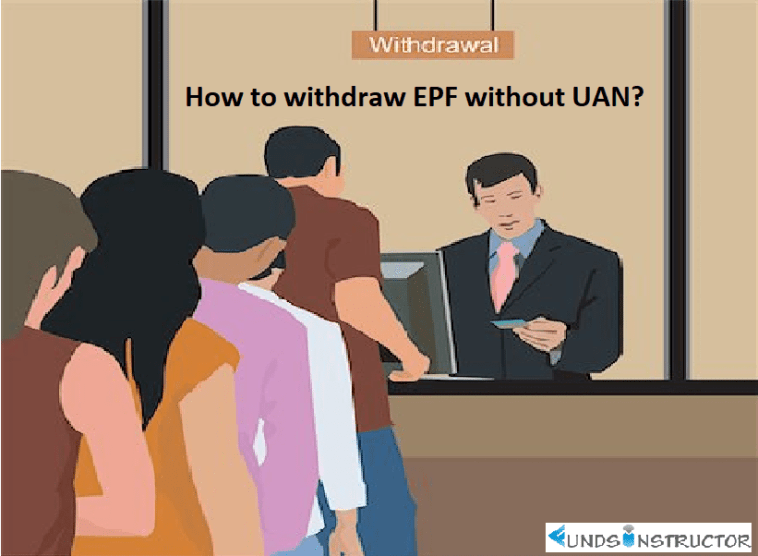 This picture indicate a line in which people withdraw EPF without UAN