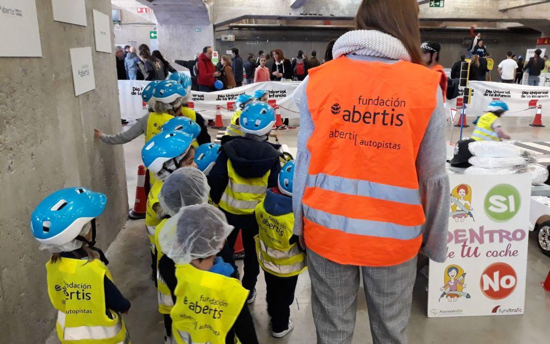 La Seguridad Vial Infantil triunfa en el 'Día Universal de la Infancia'