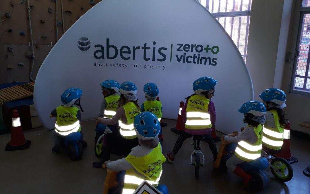 La Fundación Abertis patrocina el Programa Educación Vial Infantil por segundo año