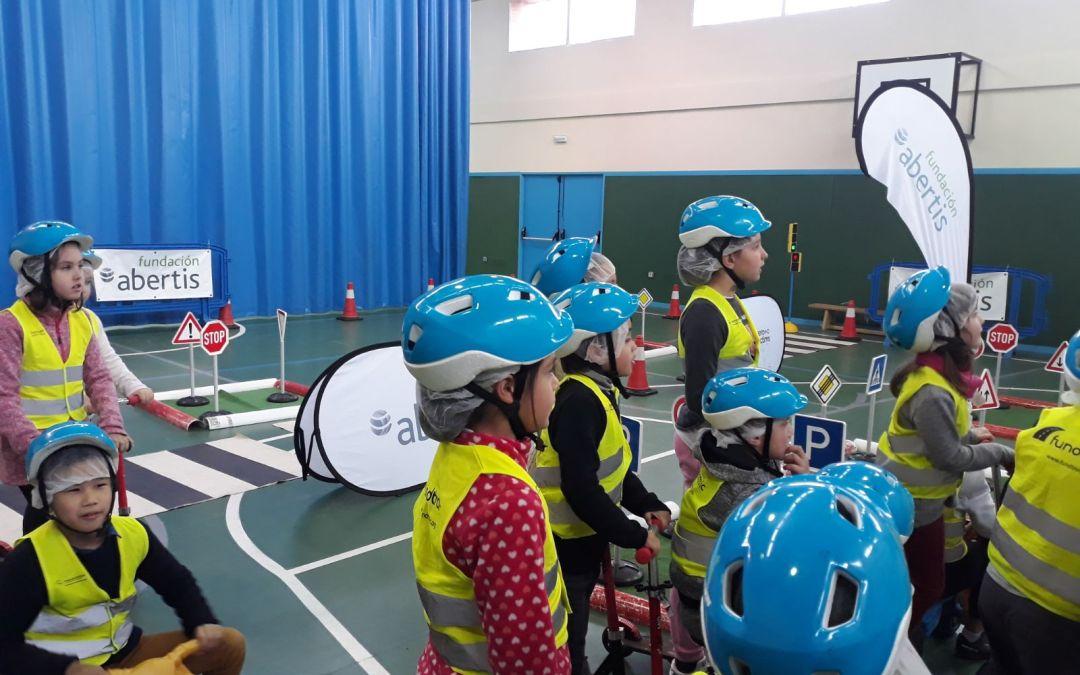 Fundtrafic educa a casi 400 menores en seguridad vial