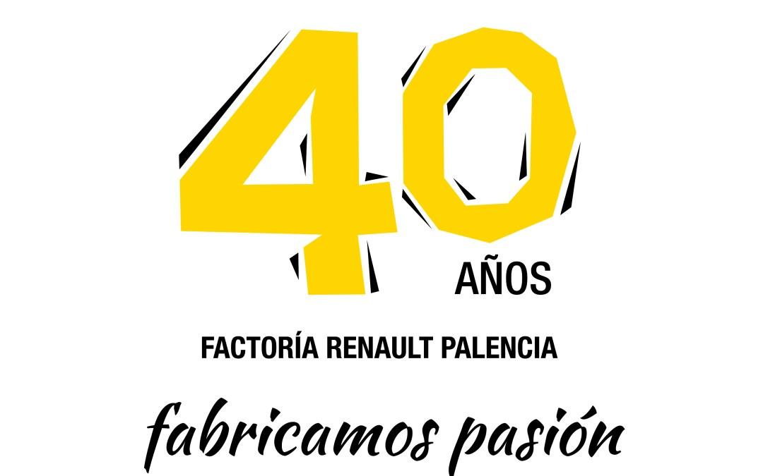 Celebramos el 40 Aniversario de Renault Palencia