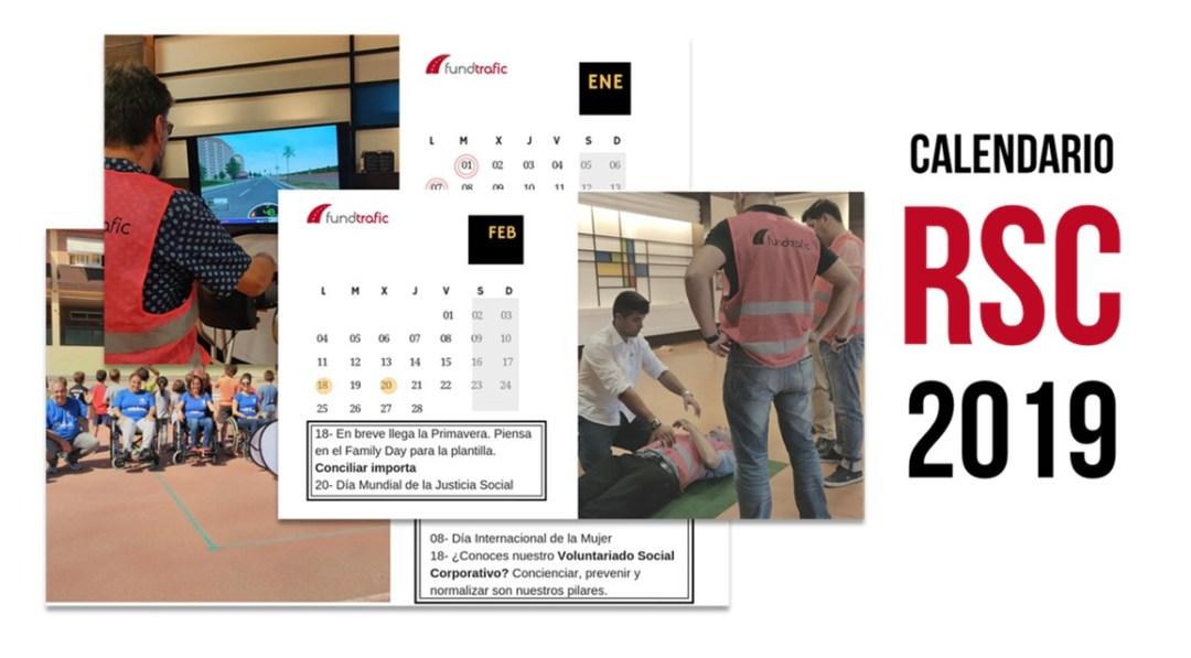 calendario RSC 2019