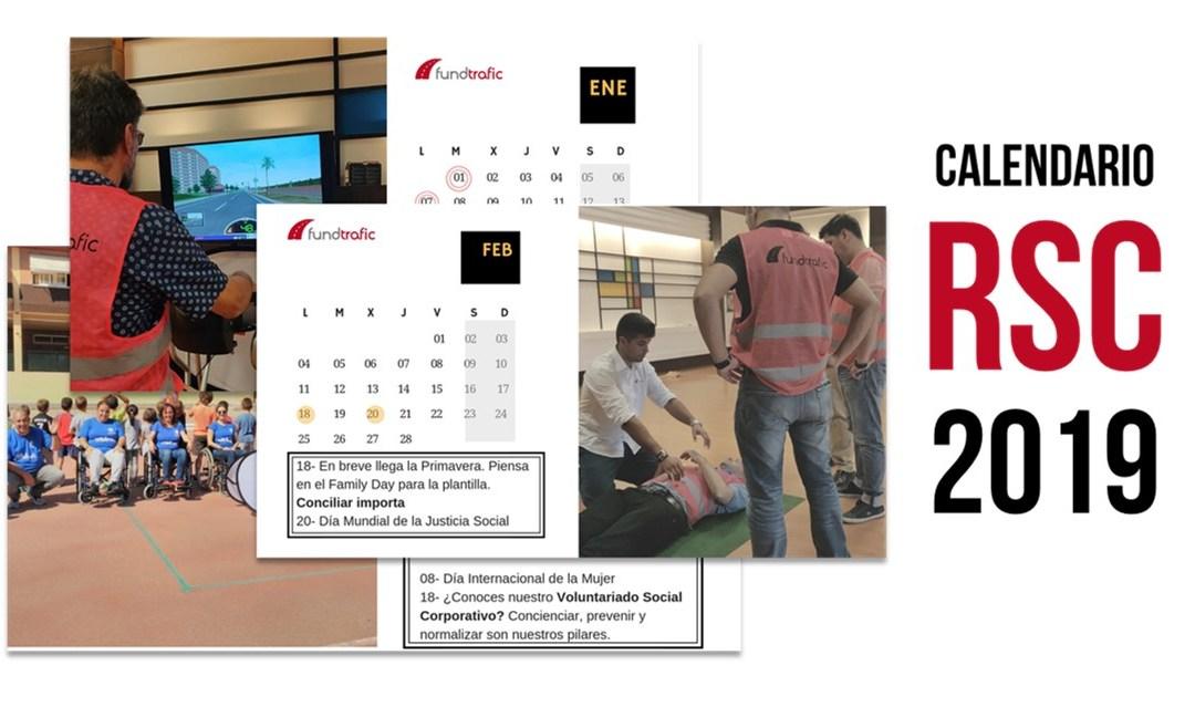Consigue GRATIS el calendario RSC 2019