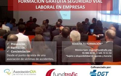 Arrancan las formaciones gratuitas en seguridad vial laboral de 2019