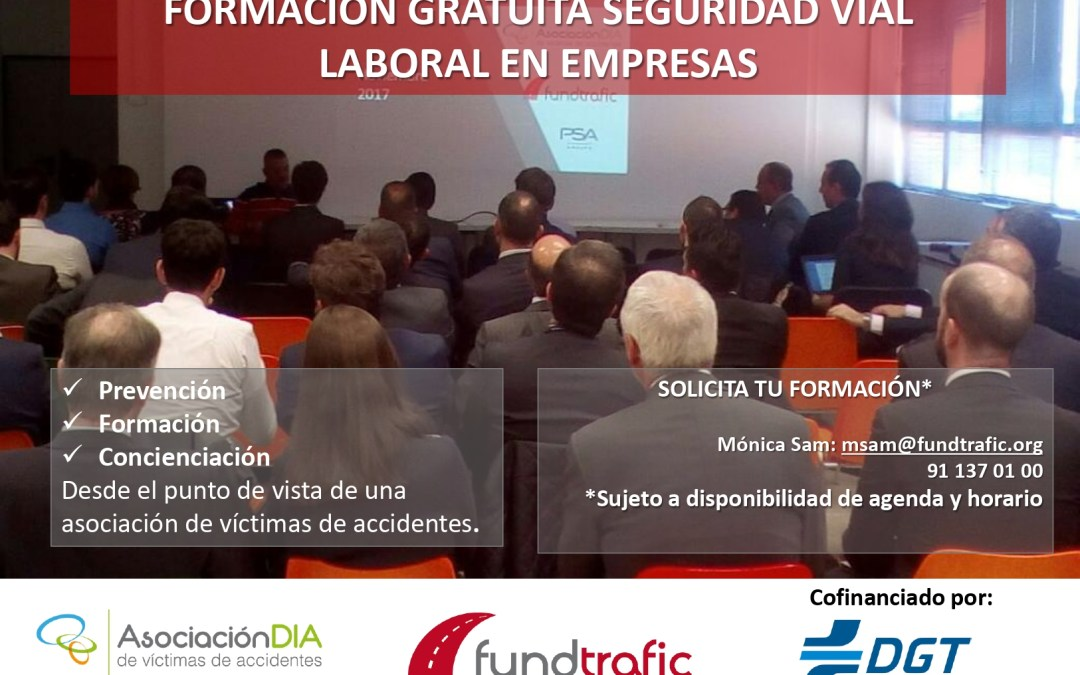 La Semana de la Movilidad en Fundtrafic arranca con formaciones gratuitas en seguridad vial