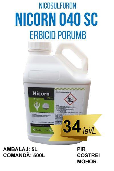 NICORN 040 SC, 100L, erbicid porumb, Compania Seminte Fundulea