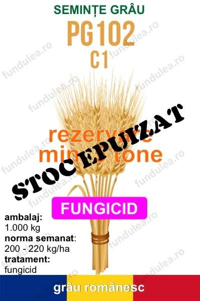 seminte grau PG102 c1 5 tone STOC