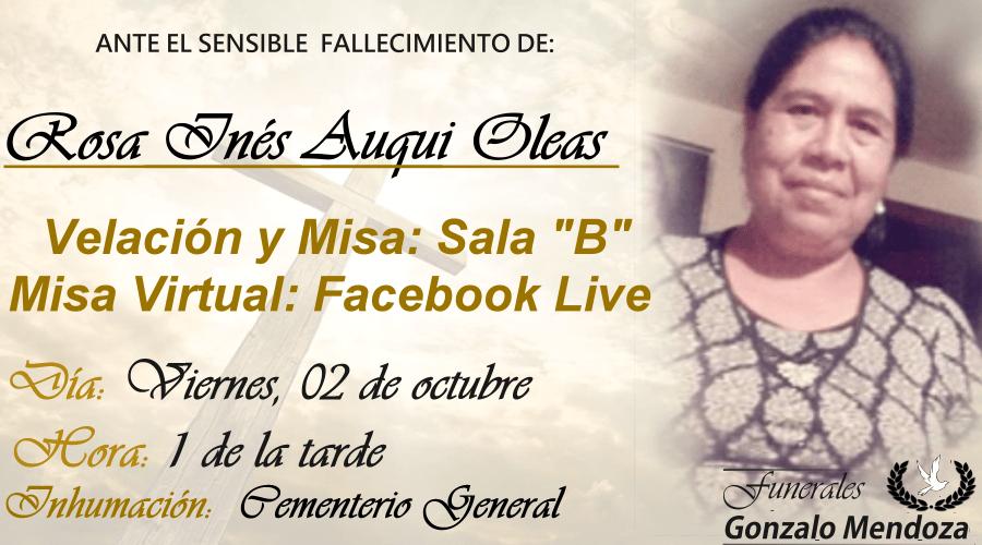 Rosa Inés Auqui Oleas