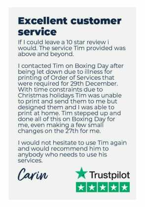 Artboard 5funeral order of service review