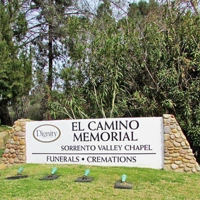 El Camino Memorial Park in San Diego
