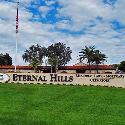 Eternal Hills Memorial Park in San Diego