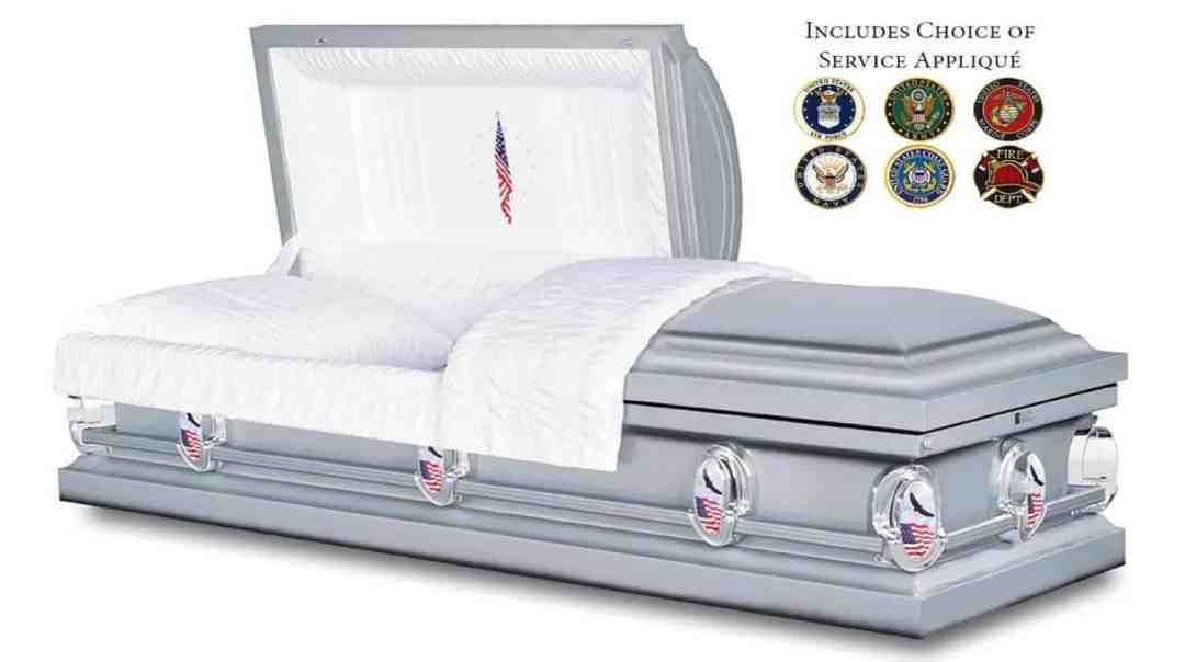 Honor Casket for Veteran Burial