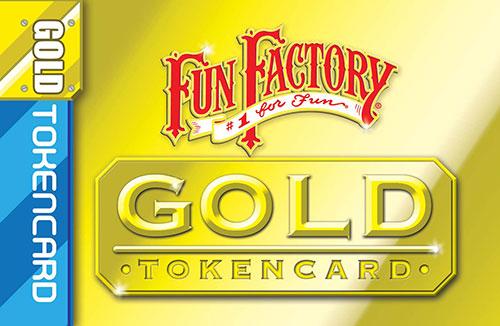 Fun Factory Gold Token Card