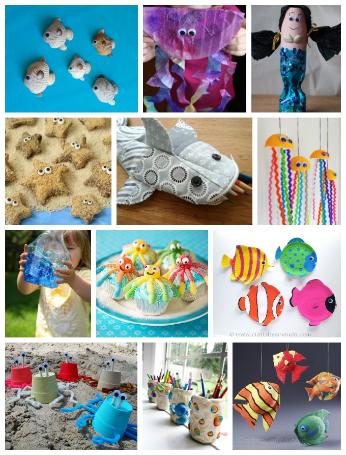 Whether or not you've got a turtle. Ocean Crafts Recipes Over 200 Ideas Fun Family Crafts