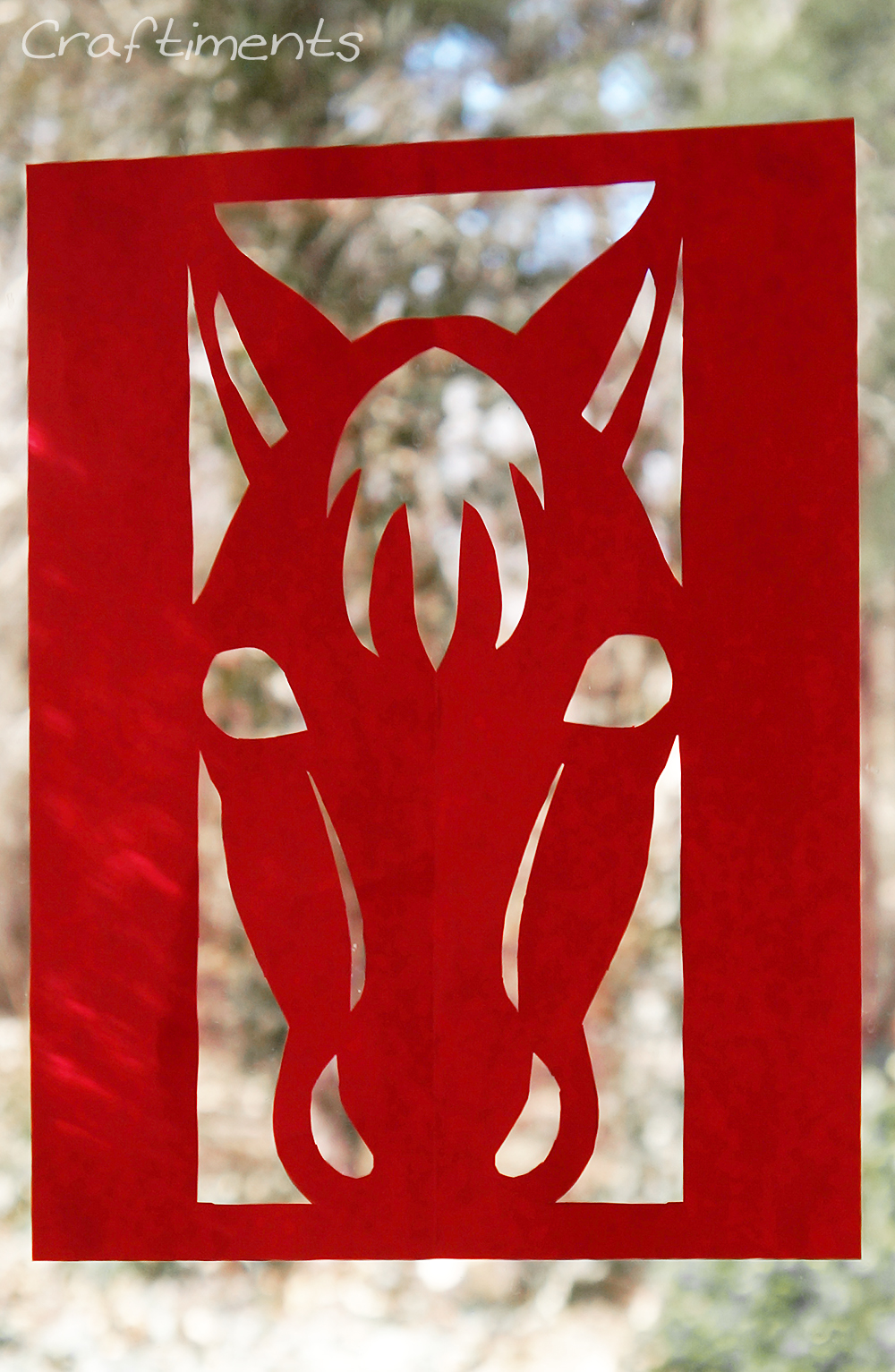 Year Of The Horse Paper Cutting Fun Family Crafts